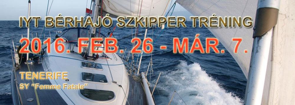 IYT Bérhajó komplett 2016 február